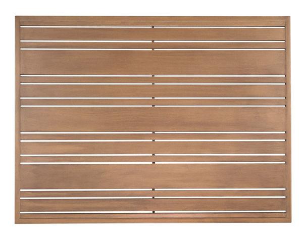 Picture of Woodard Extruded Aluminum Tri-Slat 36' x 48' Rectangular Top