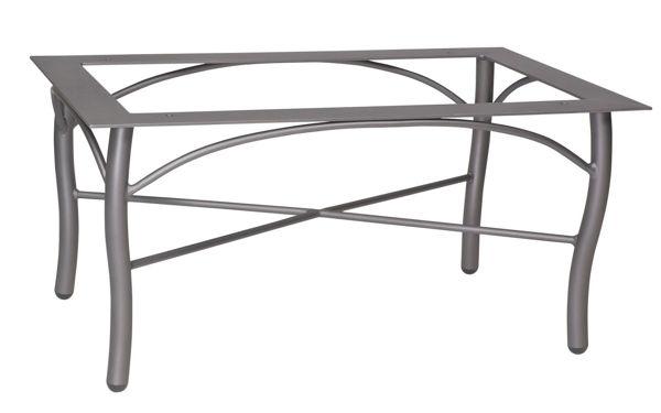 Picture of Woodard Aluminum Tribeca Rectangular Coffee Table Base