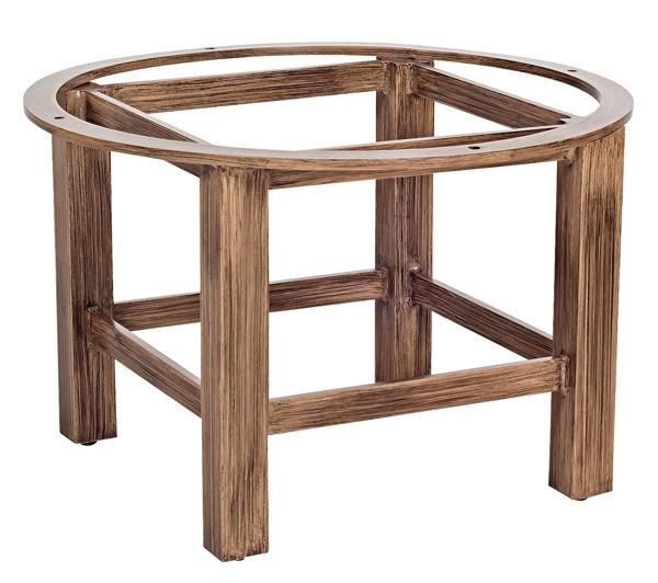Picture of Woodard Aluminum Trestle Coffee Table Base