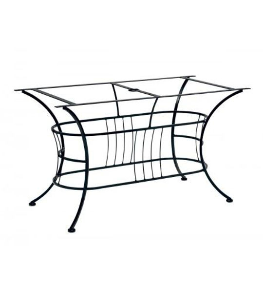Picture of Woodard Wrought Iron Easton Large Dining Table Base