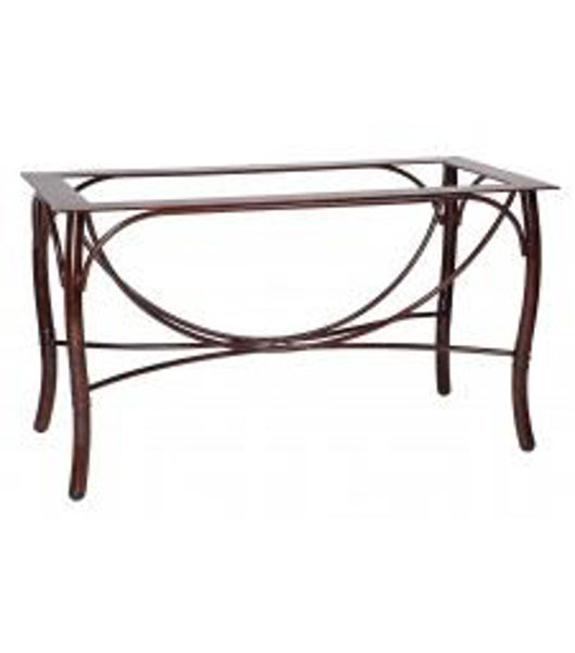 Picture of Woodard Aluminum Glade Isle Large Dining Table