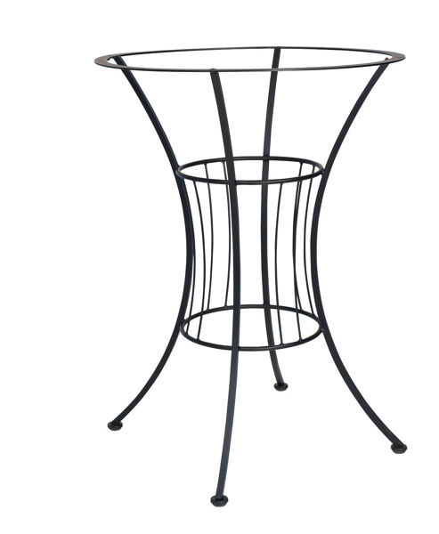 Picture of Woodard Wrought Iron Easton Bar Height Base