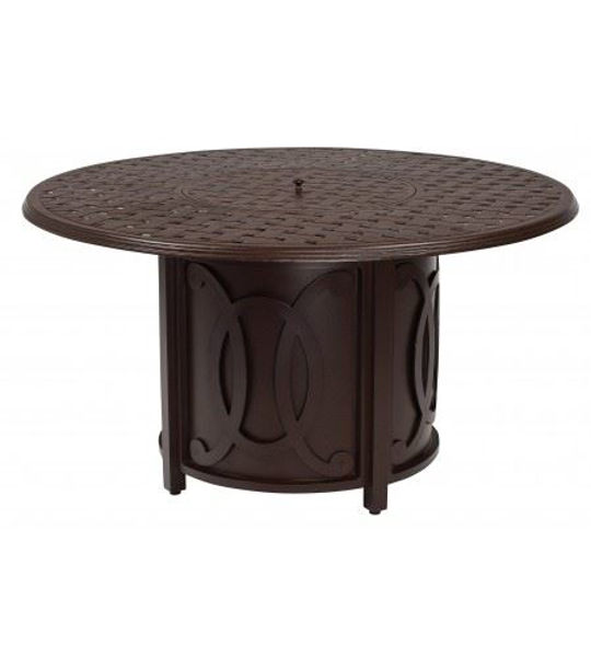 Picture of Woodard Universal Belden Round Fire Pit Base with Burner