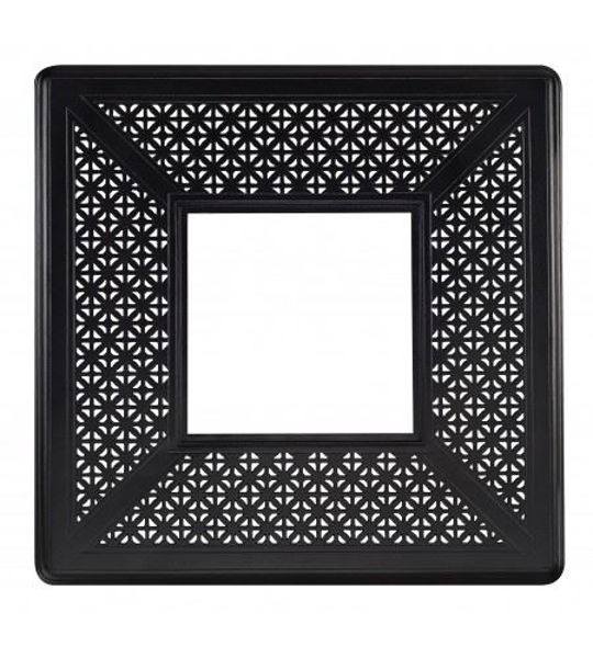 """Picture of Woodard Hampton 42"""" Square Fire Pit Top with Burner Cover"""