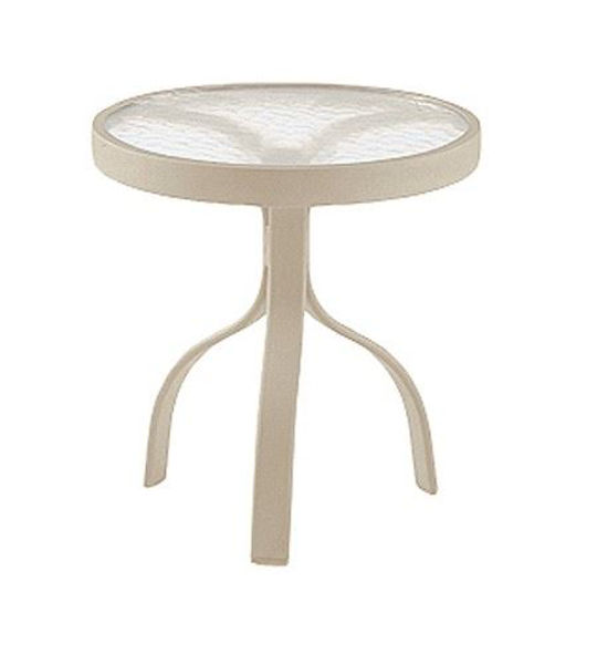 """Picture of Woodard Deluxe Sandstone 18"""" Round End Table"""