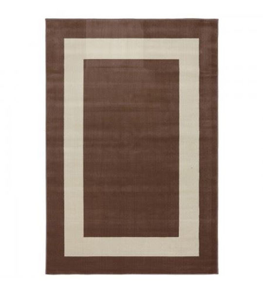 Picture of Woodard Rugs 5' x 8' Border Town Brown