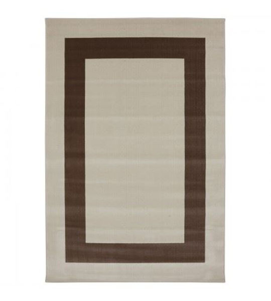 Picture of Woodard Rugs 5' x 8' Border Town Cream