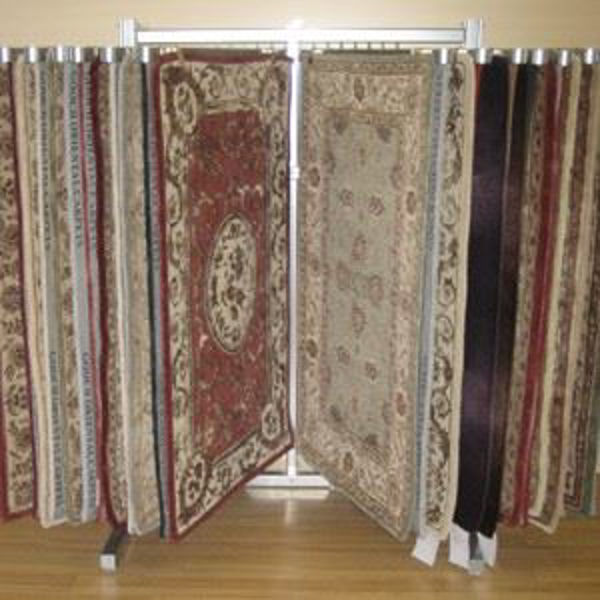 Picture of Woodard Rugs Display Unit Holds 9 rugs