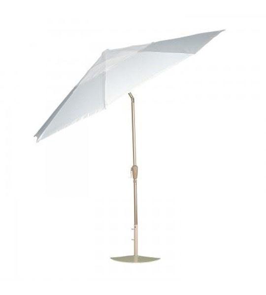 Picture of Woodard Market Umbrellas 9 Foot Collar-Tilt - Hammered Pewter