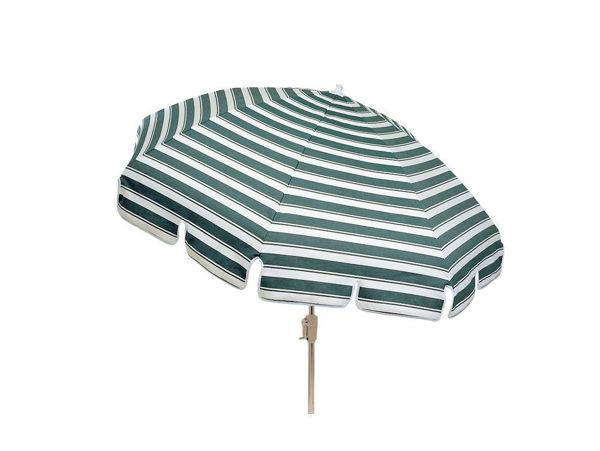Picture of Woodard Standard Conventional 8 1/2 Foot 12-Rib - Aluminum Umbrella - Push-Button