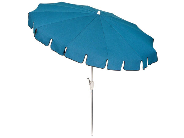 Picture of Woodard Standard Conventional 8 1/2 Foot 12-Rib - Aluminum Umbrella - Auto-Tilt