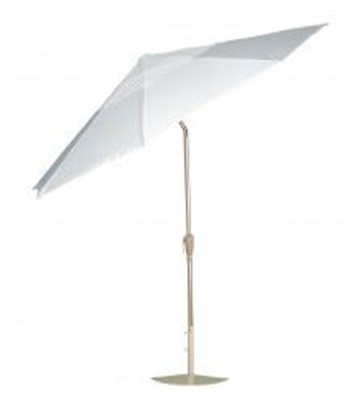 """Picture of Woodard Accessories 44"""" Market Umbrella Extension Pole - Hammered Pewter"""
