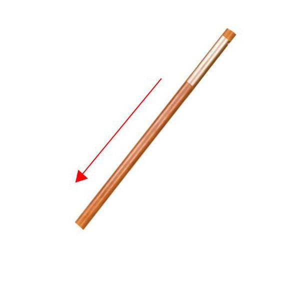 """Picture of Woodard Accessories 49"""" Market Umbrella Bottom Pole - Champagne"""