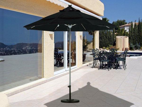 Picture of California Umbrella 9 ft. Round Stainless Steel Umbrella