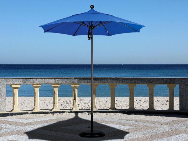 Picture of California Umbrella 7 ft. Collar Tilt Round Aluminum Umbrella