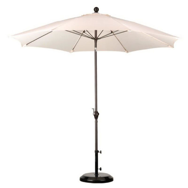 Picture of California Umbrella 9 ft. Push Tilt Wind Resistance Fiberglass Market Umbrella