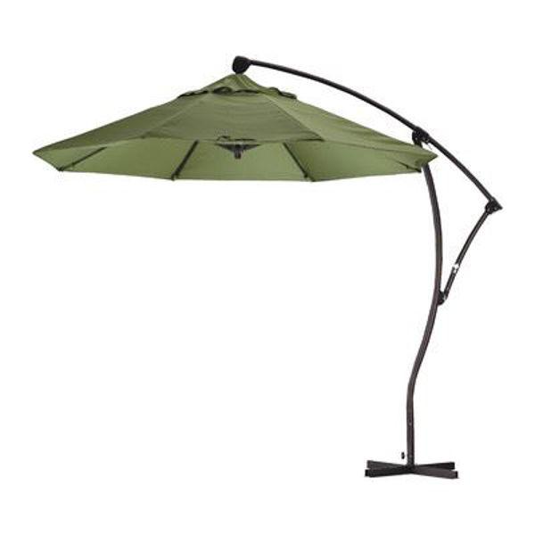 Picture of California Umbrella 9 ft. Crank Lift Delux Cantilever Market Umbrella