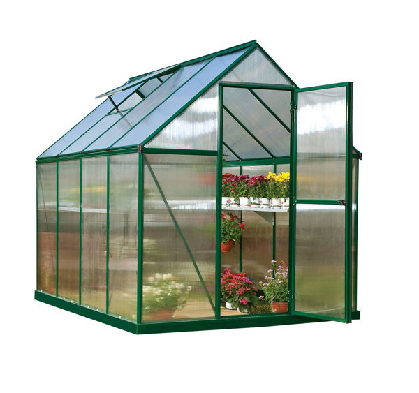 Picture of Poly Tex Mythos Hobby 6 x 8 Greenhouse - Green