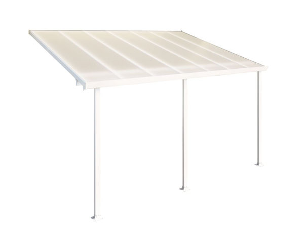 Picture of Poly Tex Feria Patio Cover 10 x 14 White