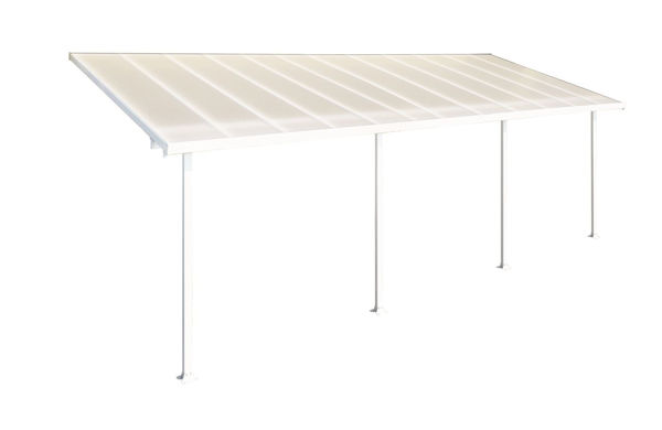 Picture of Poly Tex Feria Patio Cover 10 x 24 White