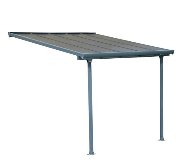 Picture of Poly Tex Feria Patio Cover 10 x 10 - Gray
