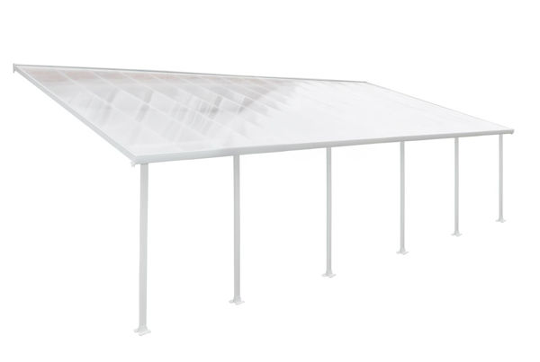 Picture of Poly Tex Patio Cover 13 x 34 - White/Clear