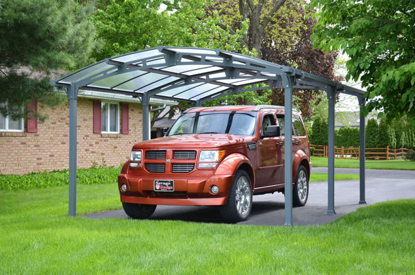Picture of Poly Tex Arcadia Carport - Gray