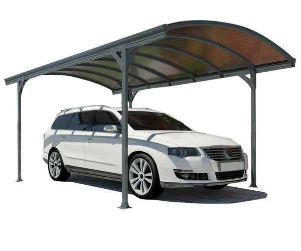 Picture of Poly Tex Vitoria Carport - Gray/Bronze