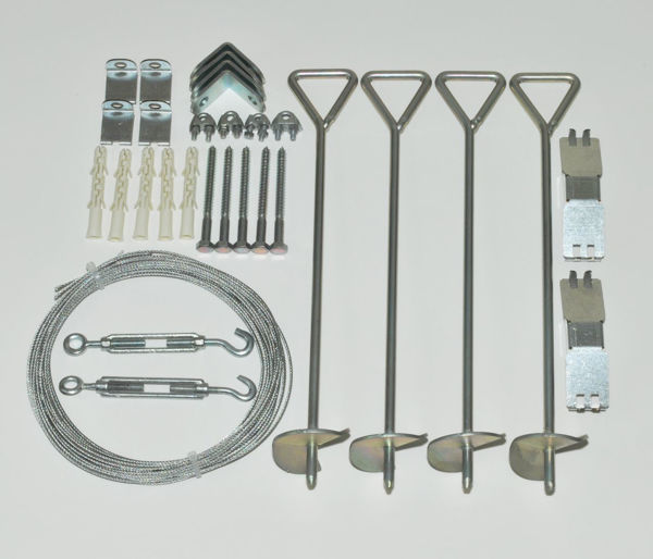 Picture of Poly Tex Accessories Greenhouse Cable Anchor Kit