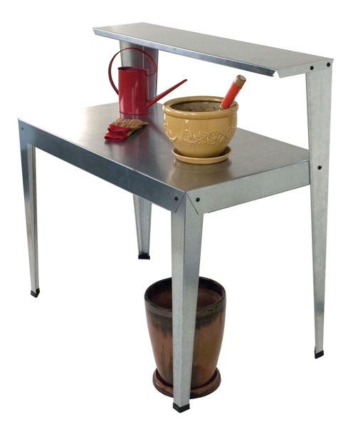 Picture of Poly Tex Accessories Galvanized Potting Bench