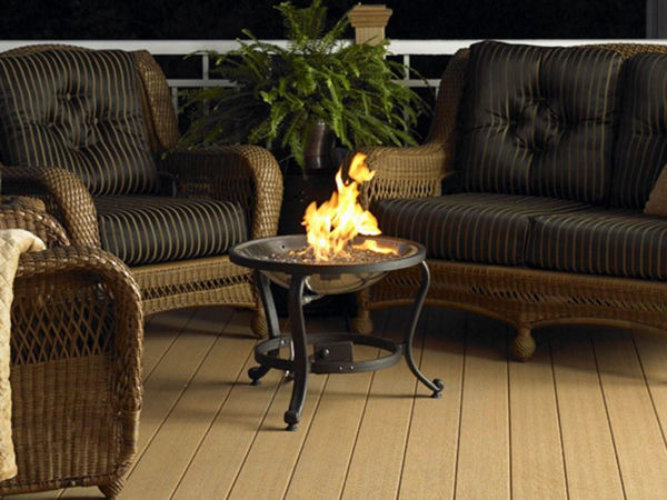 Picture of Outdoor Great Room Tripod Fire Pit