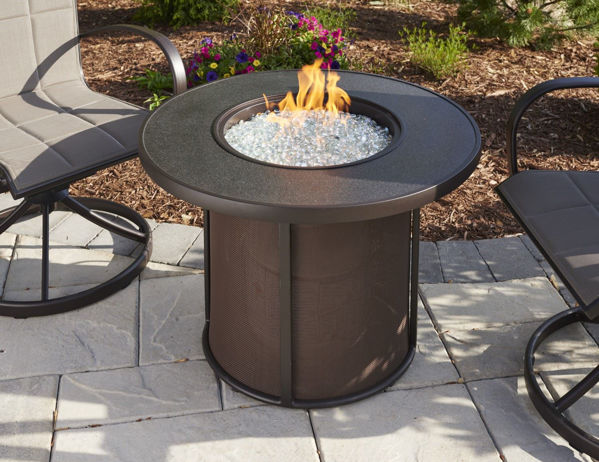 """Picture of Outdoor Great Room Stonefire 32"""" Fire Pit Table"""