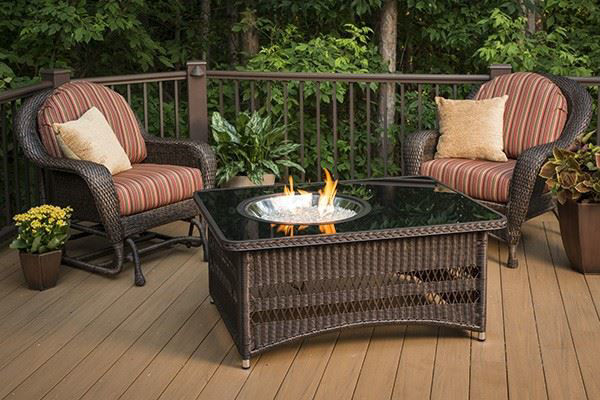Picture of Outdoor Great Room Naples - Fire Pit Table