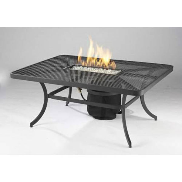 Picture of Outdoor Great Room 7' X 19' Crystal Fire Burner Pan