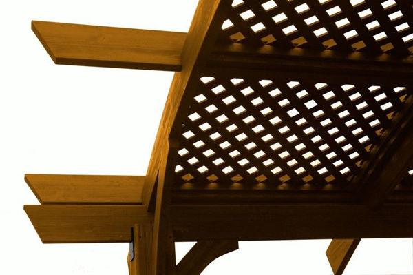 Picture of Outdoor Great Room Sonoma 16 Mocha Lattice