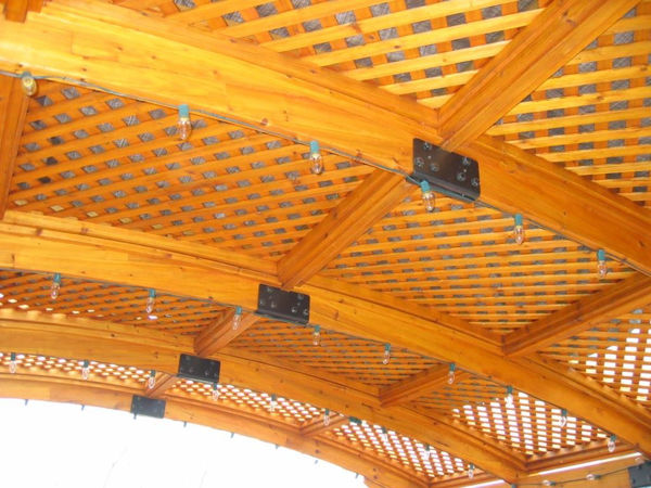 Picture of Outdoor Great Room Sonoma 12 Redwood Lattice