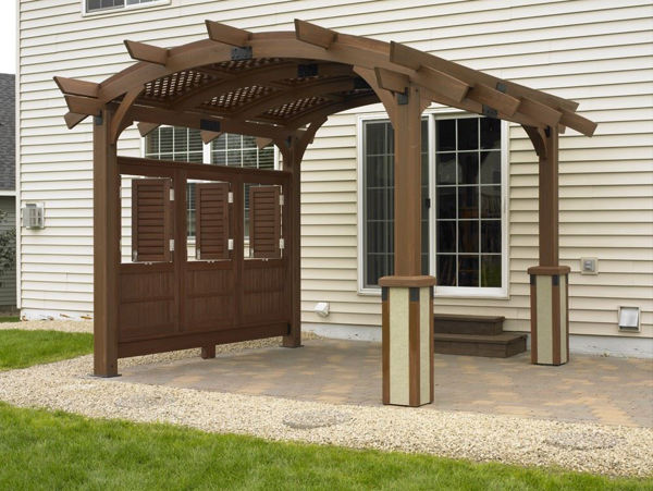 Picture of Outdoor Great Room Sonoma 12 Mocha Base Unit with Crate And Hardware