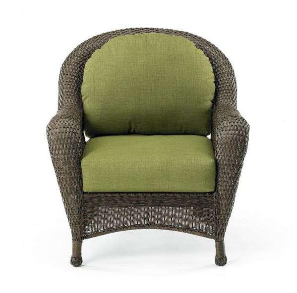 Picture of Outdoor Great Room Chair Cushions in Spectrum Cilantro