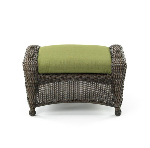 Picture of Outdoor Great Room Ottoman Cushion in Spectrum Cilantro
