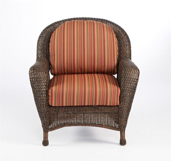 Picture of Outdoor Great Room Chair Cushions in Dorsette Cherry