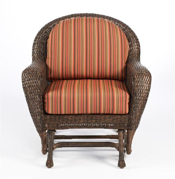 Picture of Outdoor Great Room Single Glider Cushions in Dorsette Cherry