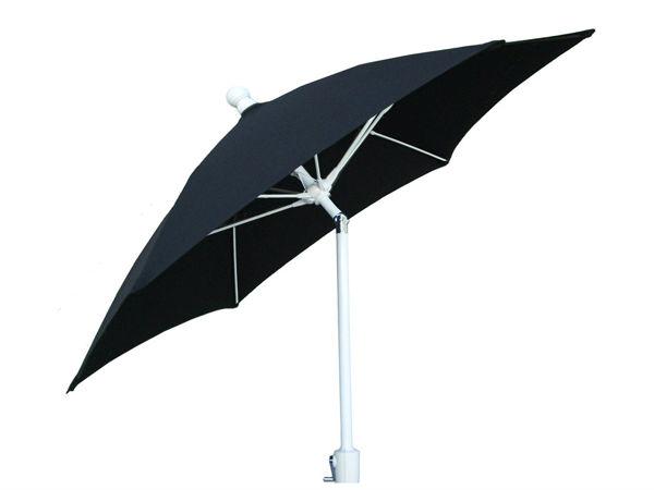 Picture of FiberBuilt 7.5 Ft Terrace Umbrellas with Crank Lift and Tilt - White Finish