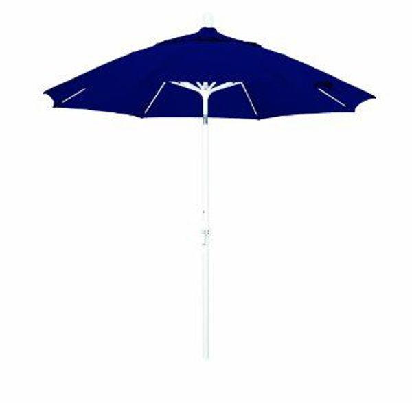 Picture of FiberBuilt 9 Ft Oceana Umbrellas Push up Lift - White Finish