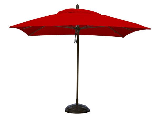 Picture of FiberBuilt 6 Ft Oceana Umbrellas Push Up Lift - Black Finish