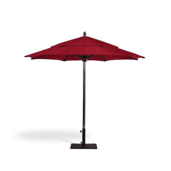 Picture of FiberBuilt 10 Ft Oceana Umbrellas Pulley and Pin Lift - Champagne Bronze Finish