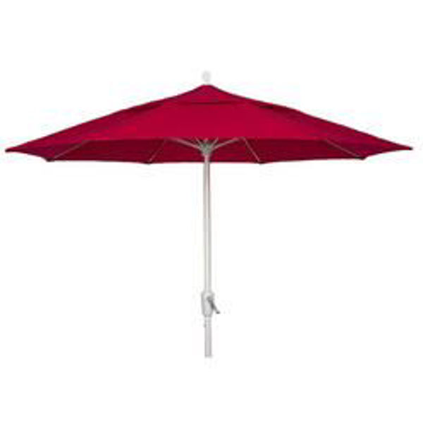Picture of FiberBuilt 10 Ft Oceana Umbrellas Pulley and Pin Lift - White Finish