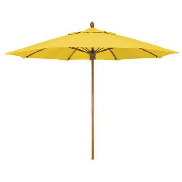 Picture of FiberBuilt 7 Ft Bridgewater Umbrella Push up Lift - Chestnut Finish