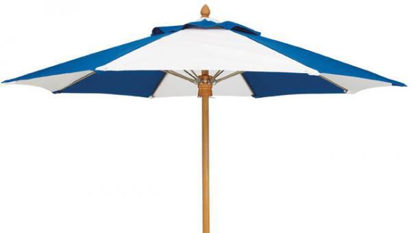 Picture of FiberBuilt 9 Ft Augusta Umbrella Push up Lift - Teak Finish