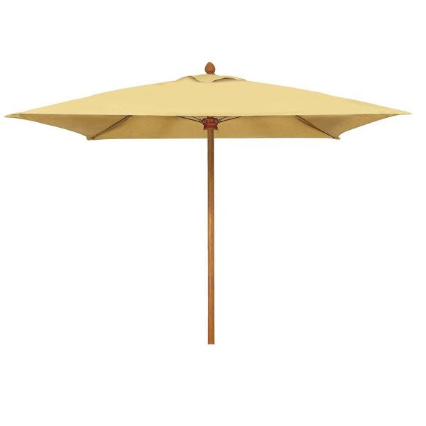 Picture of FiberBuilt 9 Ft Augusta Umbrella Push up Lift - Chestnut Finish