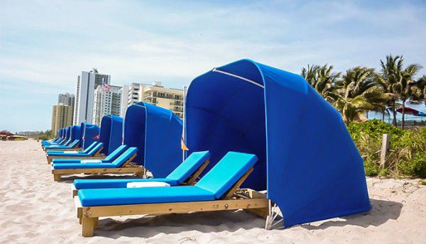 Picture of FiberBuilt Cabana Umbrella